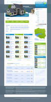 Real Estate Layout HTML+Flash by wiz24