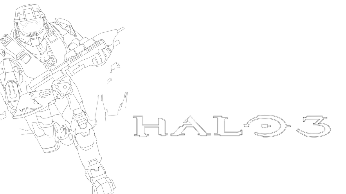 Master Chief Drawing Step By Step Holding Energy Sword: Halo Energy Sword Coloring Pages 5 Coloring Pages