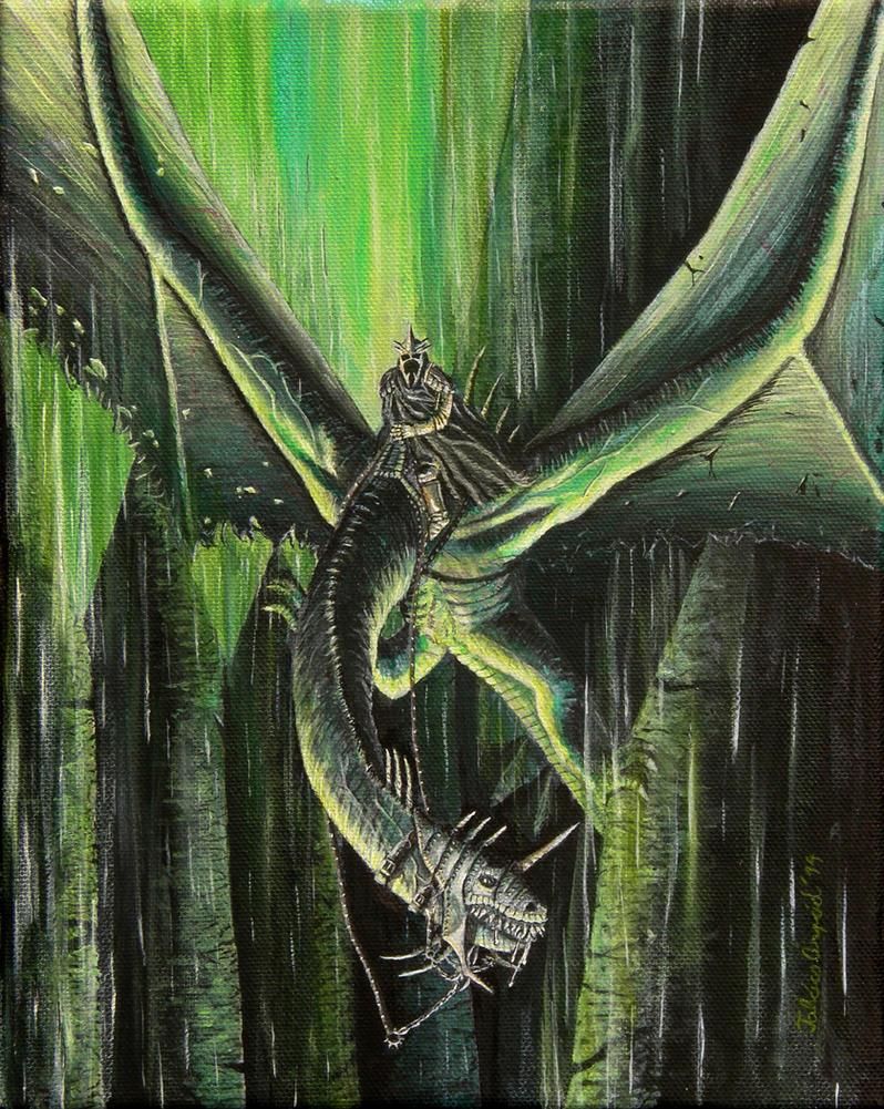 At Minas Morgul by bullminotaur