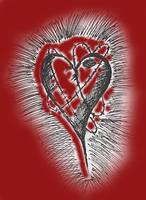 broken heart by DarkestNightshade