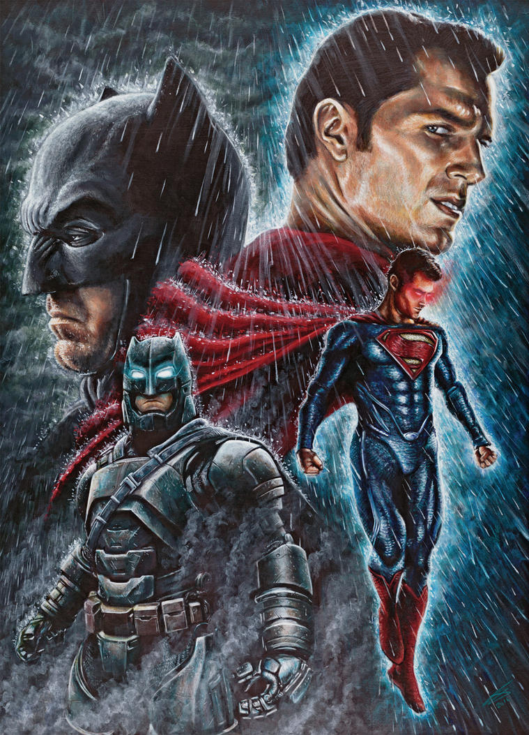 Batman Vs Superman By JonARTon