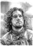 Jon Snow Pencil Portrait