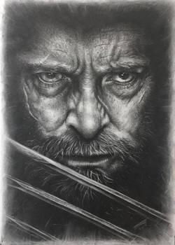 Hugh Jackman as Logan in Charcoal 2