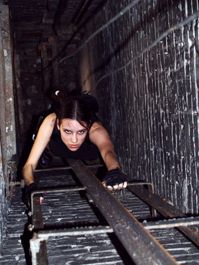 Lara Croft - In well by TanyaCroft