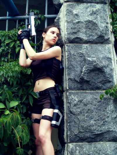 Lara Croft - Ambush by TanyaCroft