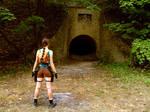 Lara Croft cosplay - entry