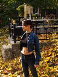 Lara Croft cosplay - jeans by TanyaCroft