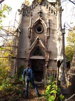 Lara Croft - chapel by TanyaCroft