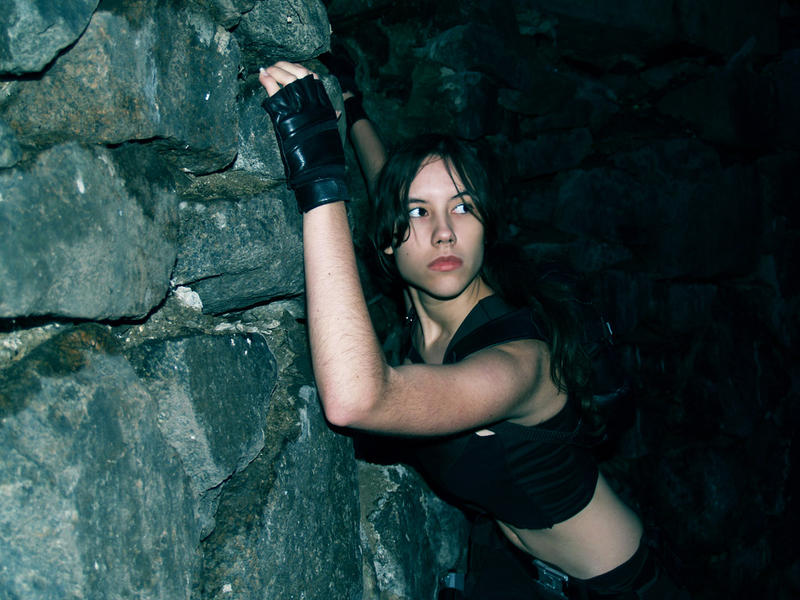 Lara Croft - circumspection by TanyaCroft