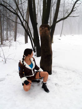 Lara Croft Cosplay - runes