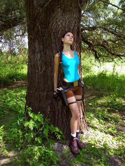 Lara Croft -  dreaming of by TanyaCroft
