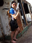 Lara Croft SOLA - render