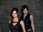 Lara Croft and Doppelganger by TanyaCroft