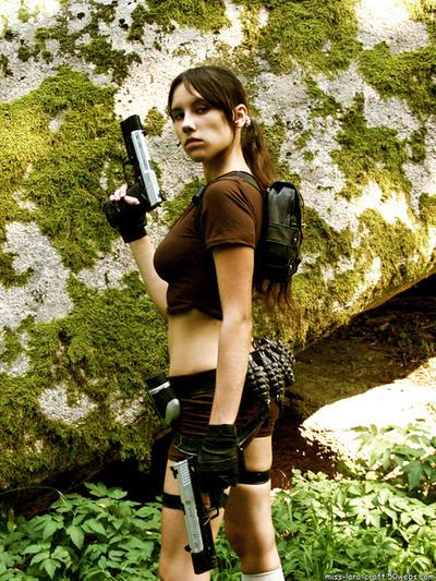 Lara Croft Legend - render by TanyaCroft