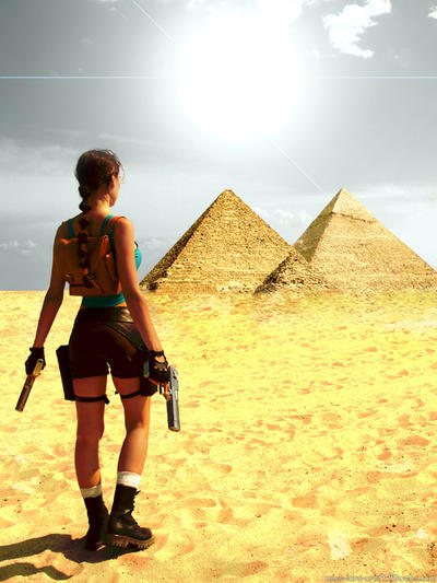 Tomb Raider Revelation render by TanyaCroft