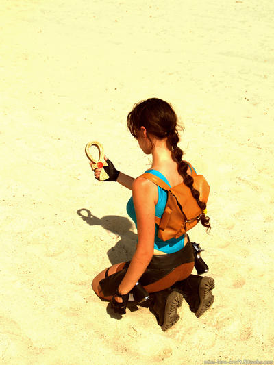 Lara Croft and Amulet of Horus by TanyaCroft
