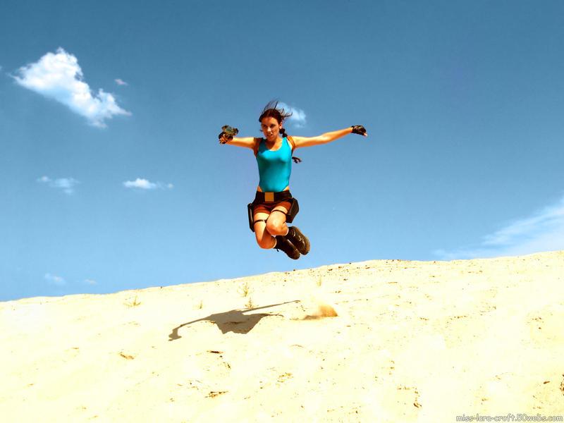 TR: Lara Croft - jumping by TanyaCroft