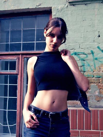 Lara Croft without jacket-2 by TanyaCroft
