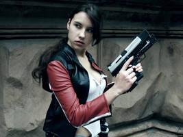 Lara Croft - biker costume by TanyaCroft