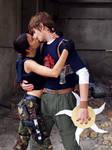Lara and Kurtis - kissing