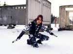 Lara Croft - killing sight by TanyaCroft