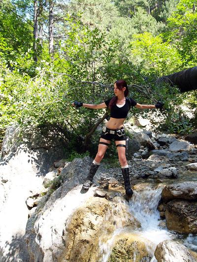 Lara Croft is exploring by TanyaCroft