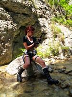 Lara Croft - reloading gun by TanyaCroft
