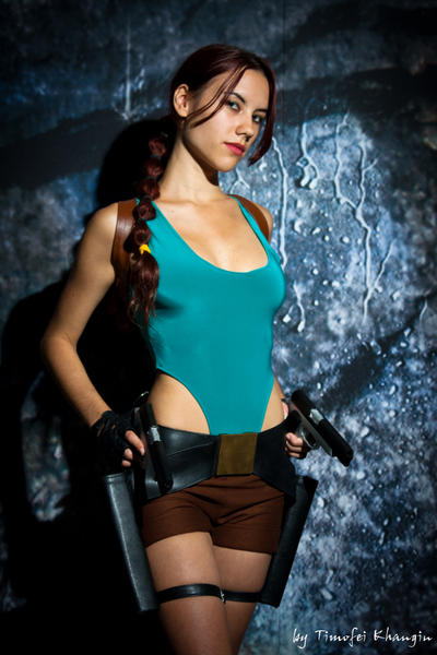 Igromir'11 classic Lara Croft 7 by TanyaCroft