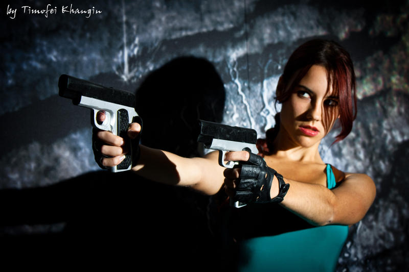 Igromir'11 classic Lara Croft 5 by TanyaCroft