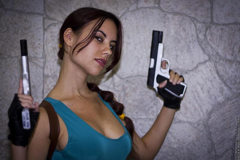 Igromir'11 classic Lara Croft 2 by TanyaCroft