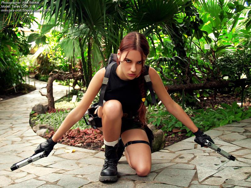 Lara Croft cosplay - AOD render by TanyaCroft