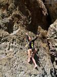 Lara Croft wetsuit - rock climbing by TanyaCroft