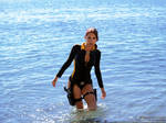 Lara Croft wetsuit - suddenly!