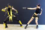Lara Croft and Scorpion - Igromir'12 by TanyaCroft