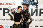 Lara Croft and Wolverine - Igromir'12 by TanyaCroft