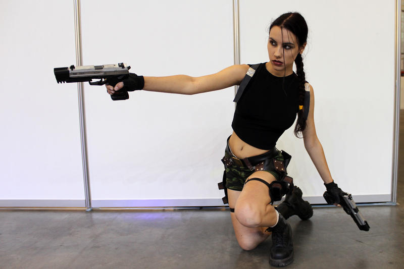 Lara Croft AOD2 - Igromir'12 by TanyaCroft