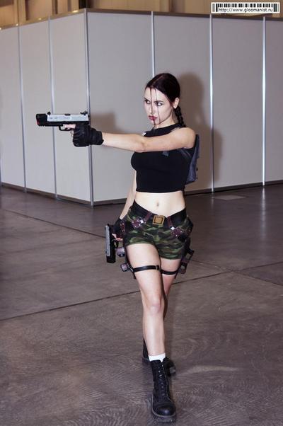 Lara Croft AOD4 - Igromir'12 by TanyaCroft