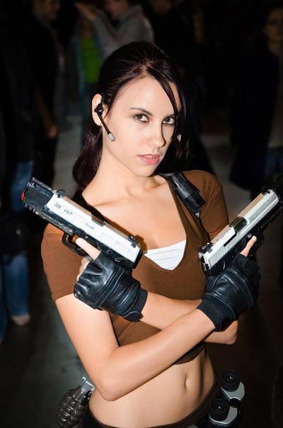 Lara Croft LEGEND4 - Igromir'12 by TanyaCroft