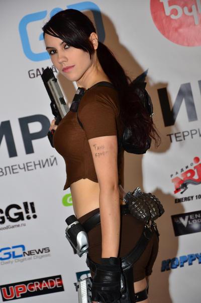 Lara Croft LEGEND5 - Igromir'12 by TanyaCroft