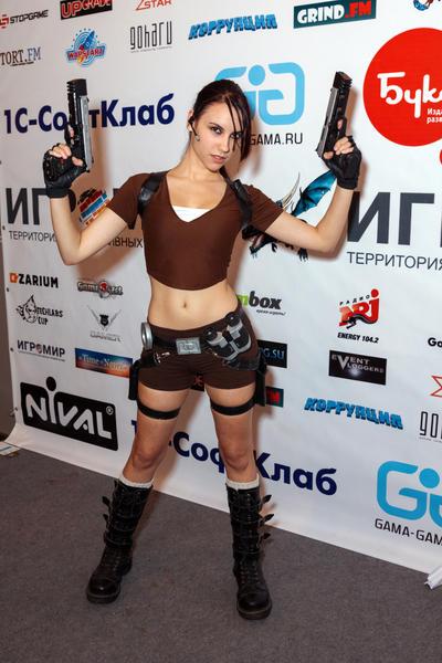 Lara Croft LEGEND6 - Igromir'12 by TanyaCroft