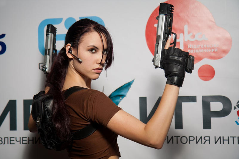 Lara Croft LEGEND8 - Igromir'12 by TanyaCroft