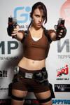 Lara Croft LEGEND9 - Igromir'12