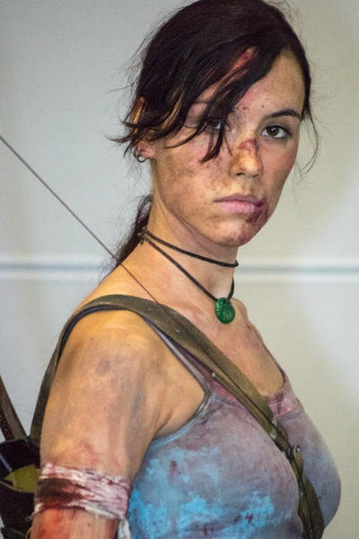 Lara Croft REBORN1 - Igromir'12 by TanyaCroft