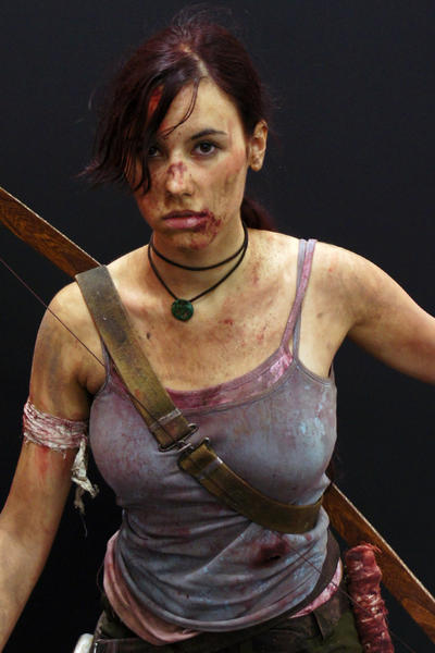 Lara Croft REBORN2 - Igromir'12 by TanyaCroft