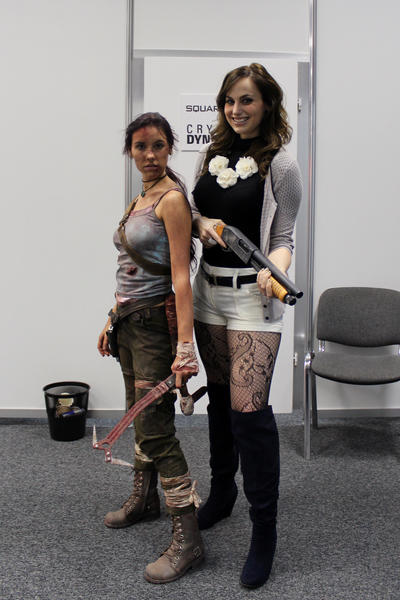 Lara Croft REBORN with Meagan Marie ^^ by TanyaCroft