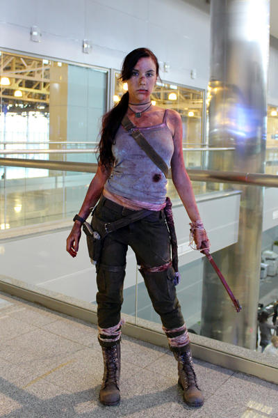 Lara Croft REBORN5 - Igromir'12 by TanyaCroft