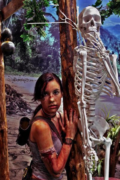 Lara Croft REBORN9 - Igromir'12 by TanyaCroft