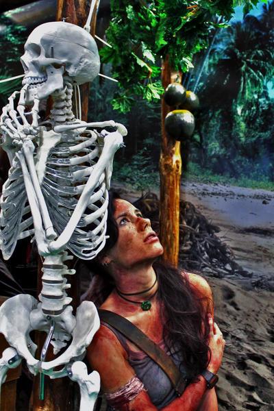 Lara Croft REBORN10 - Igromir'12 by TanyaCroft