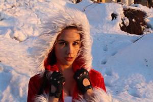 New Year's Lara Croft - portrait