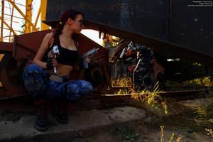 Lara Croft VS guard - ambush by TanyaCroft